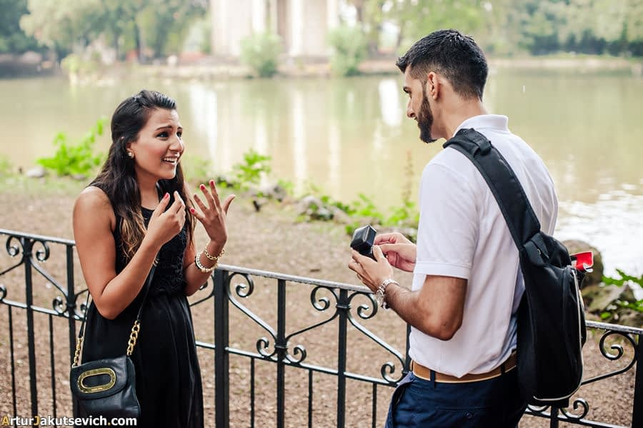 Get engaged in Italy