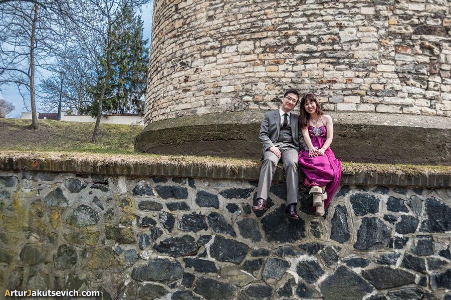 Pre wedding in Prague