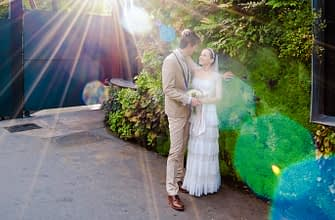 Wedding photo shooting in Paris