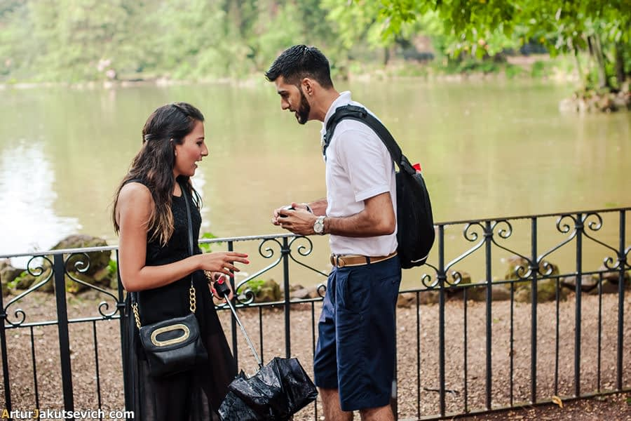 Will you marry me in Rome photo