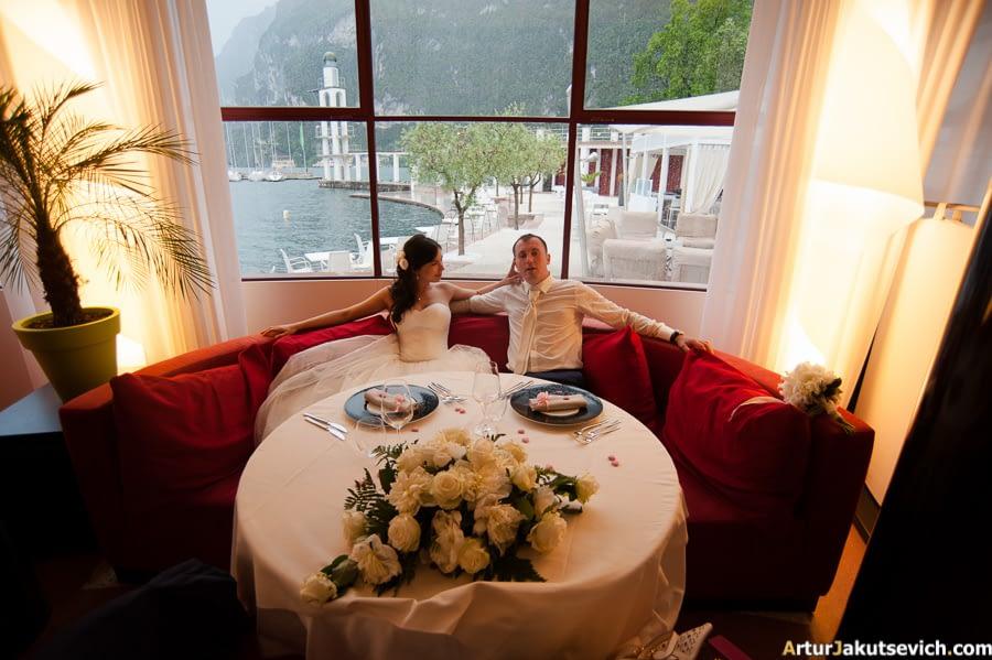 Restaurant in Garda Lake