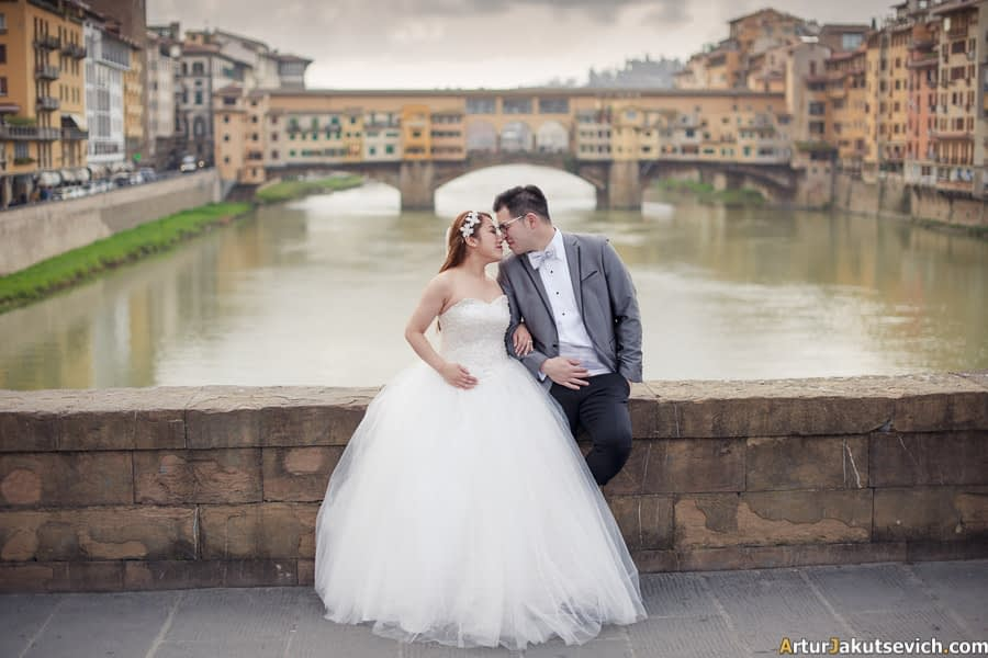 Pre wedding trip to Florence Italy
