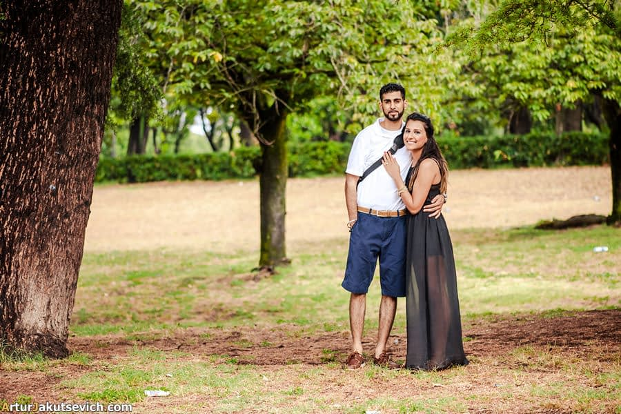 Ricky and Pallavi in Rome
