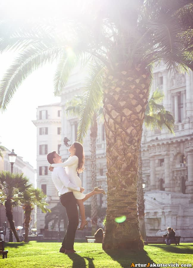 Wedding photographer in Rome and Italy