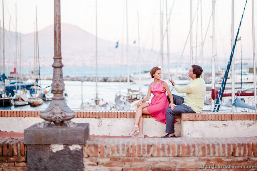 Luxury pre wedding photography in Italy and Europe