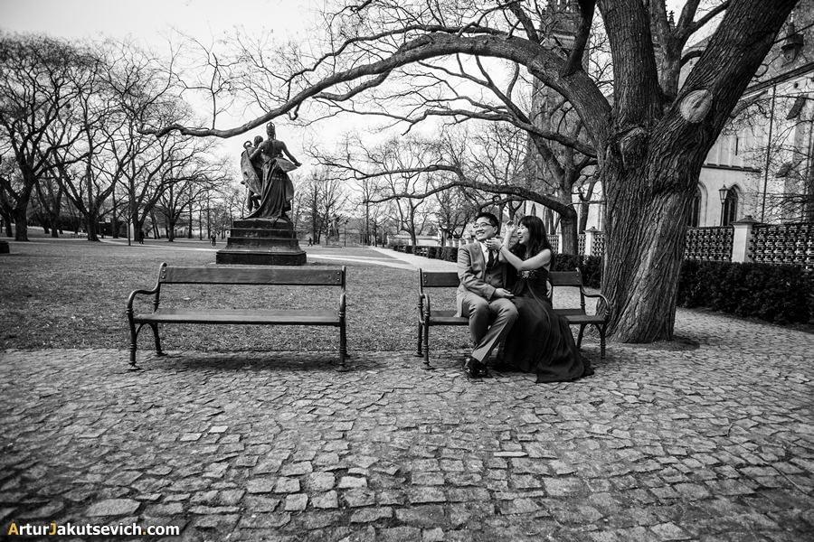 Pre wedding in Prague photo