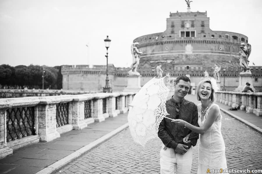 Honeymoon in Rome