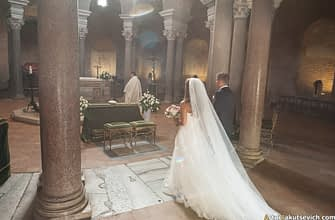 Church wedding in Rome
