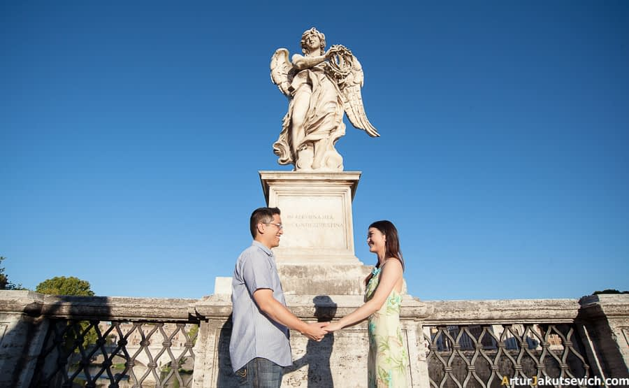 Photo shooting in Rome