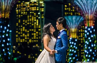Wedding photographer in Singapore