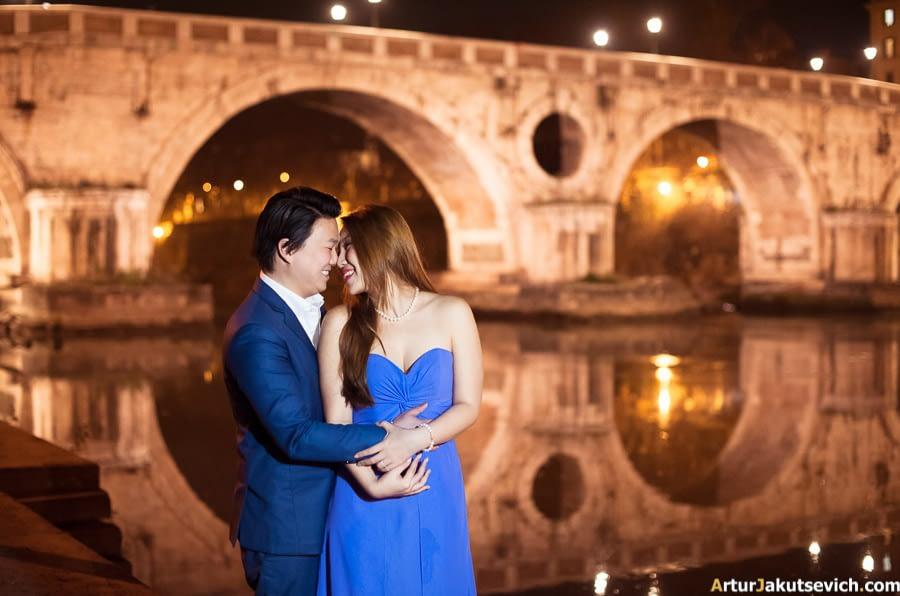 Italian wedding photographer in Rome
