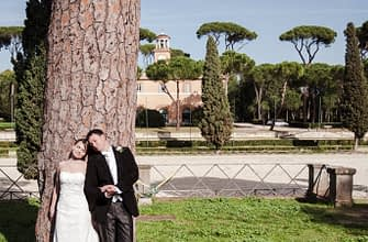 Wedding photographer in Rome Italy