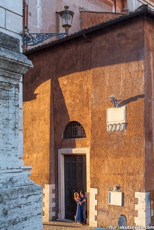 Italian photographer in Rome