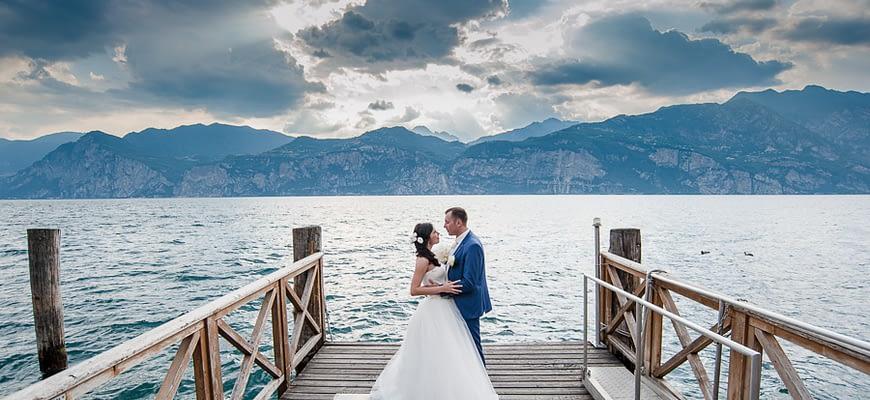 Wedding at Garda Lake Italy photo