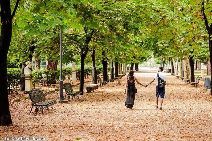 Get engaged in Rome