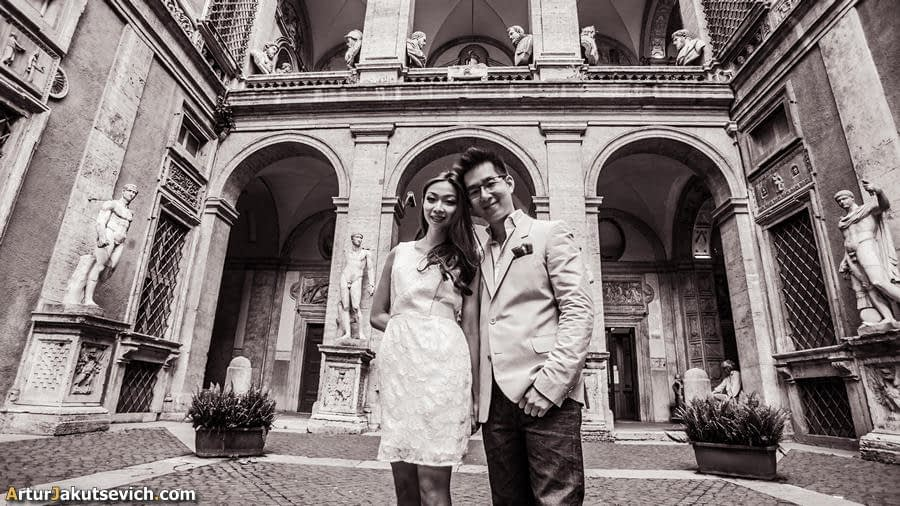Pre wedding photography in Italy