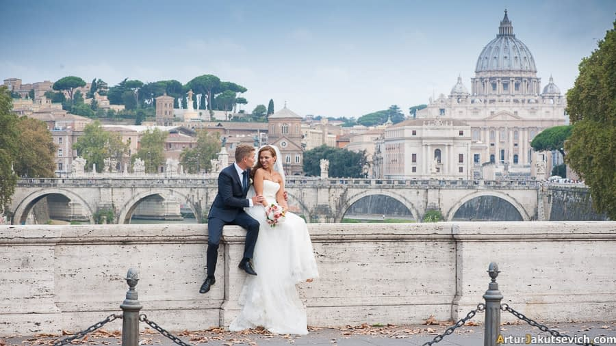 Vatican marriage photography