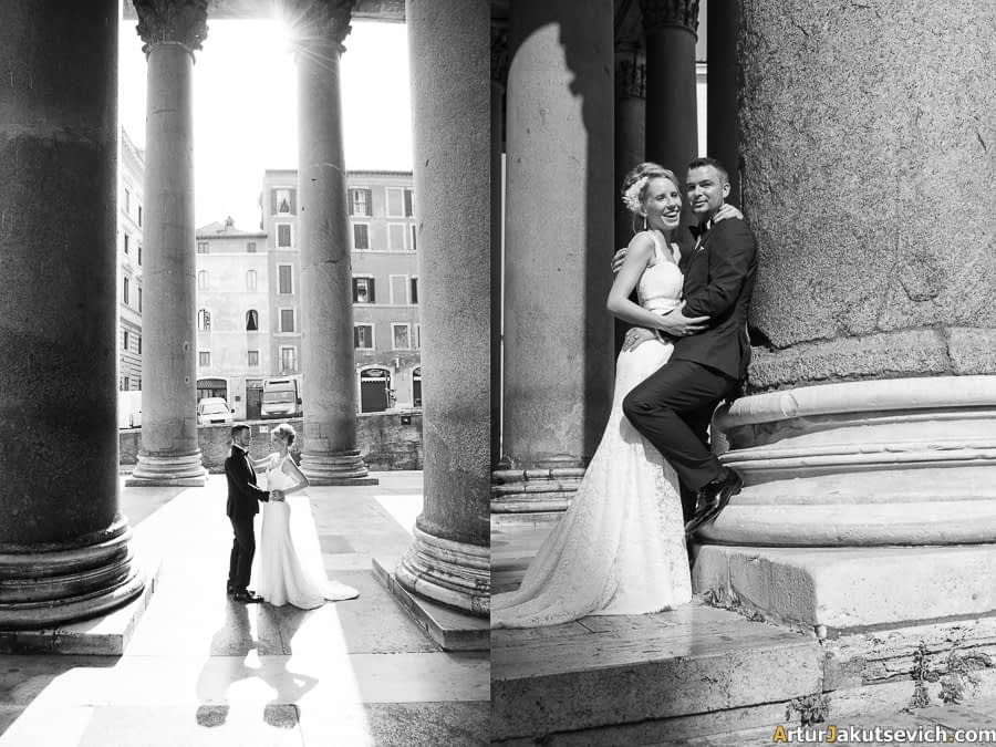 Professional wedding photographer in Italy and Rome