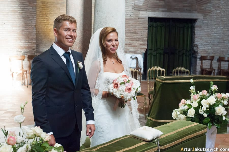 Real wedding in Rome