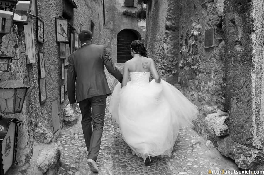 Official marriage in Italy