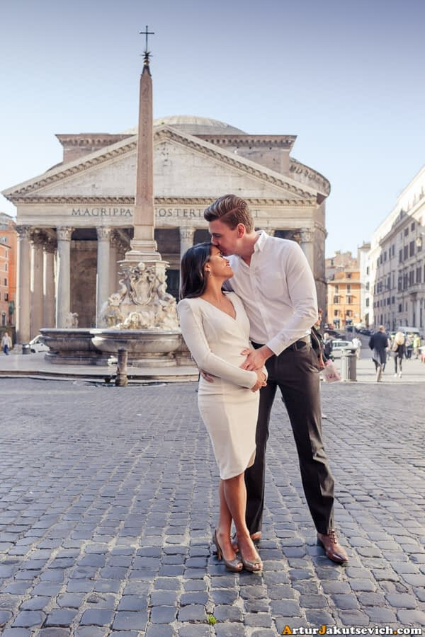 Pre-wedding photographer in Rome