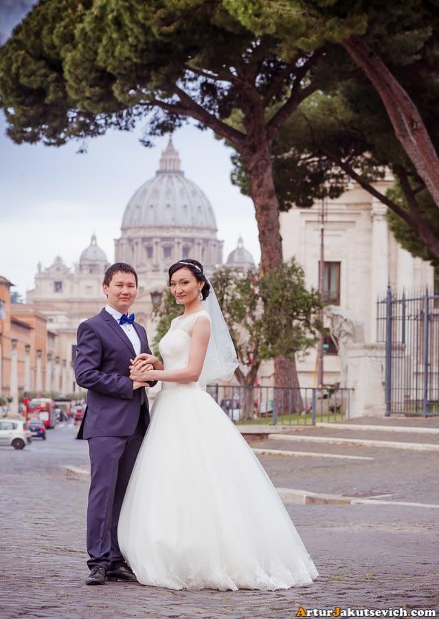 Honeymoon in Vatican