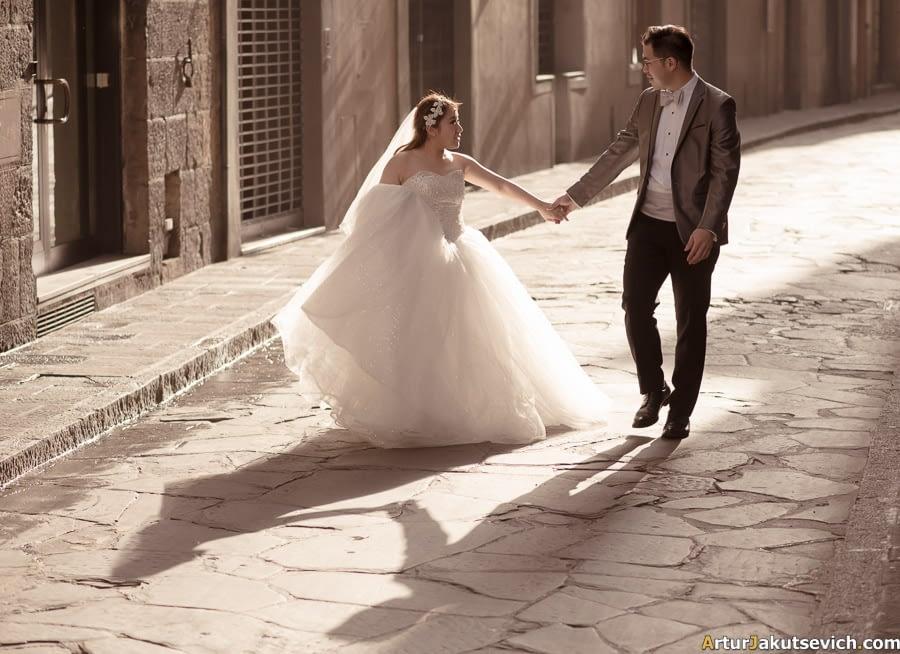 Pre wedding photo in Italy
