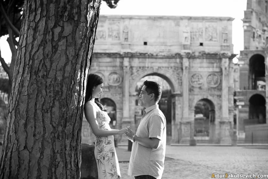 Where to take photo in Rome